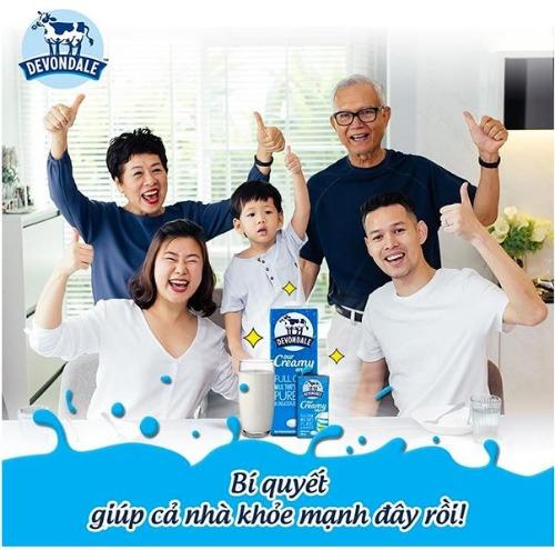 Sữa Devondale - dành cho cả gia đình