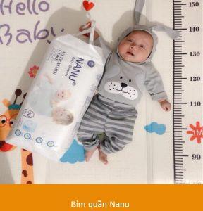 Nanu - an toàn tuyệt đối cho sức khỏe và sự phát triển của trẻ nhỏ