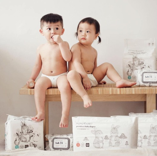 Momo Rabbit - thương hiệu bỉm chất lượng số 1 Hàn Quốc