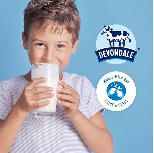 Devondale dành cho trẻ từ 1 tuổi trở lên.