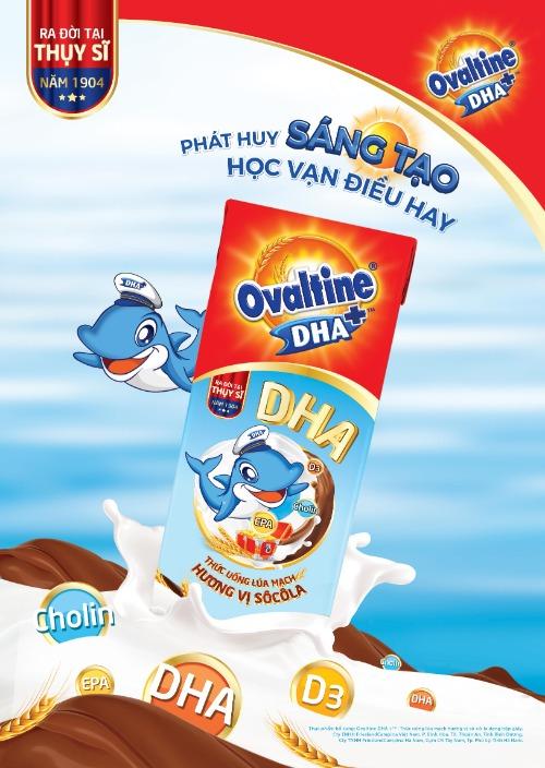 Ovaltine hương vị Socola
