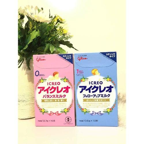 Glico mang tới cho các mẹ dạng sữa thanh vô cùng tiện lợi