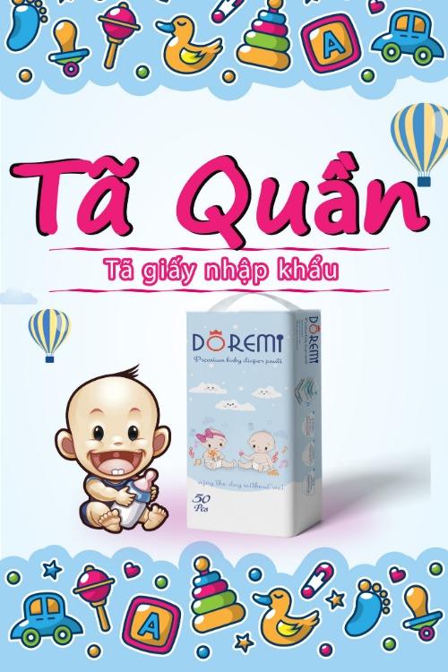 Bỉm Doremi nội địa được Mom tin dùng cho bé