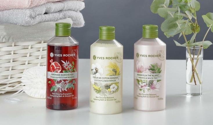 Sữa tắm Yves Rocher có đa dạng mùi hương để lựa chọn