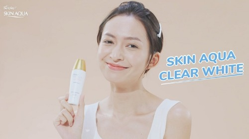 Skin Aqua thích hợp với mọi loại da, kể cả da nhạy cảm