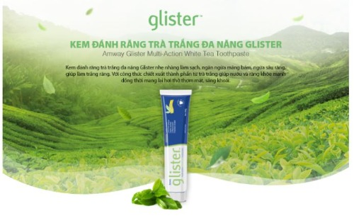 Glister - kem đánh răng đa năng áp dụng công nghệ mới nhất 2020