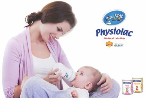 Sữa Physiolac - Người bạn đồng hành của Bé