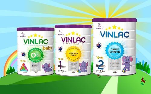Vinlac - cải thiện tầm vóc trẻ em Việt Nam