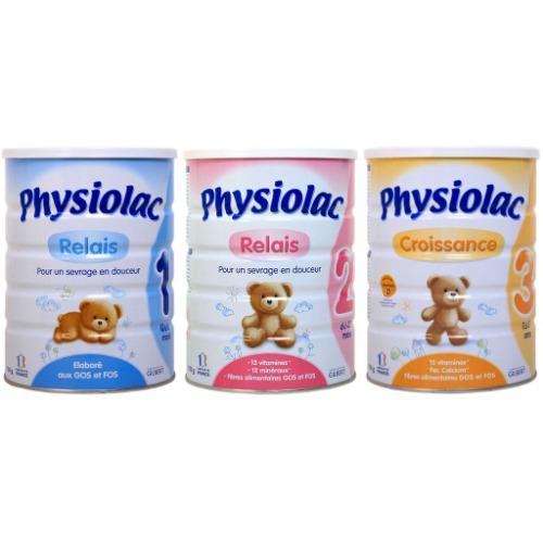 Sữa Physiolac giúp bé phát triển khỏe mạnh, thông minh, nhanh nhẹn