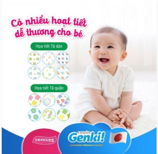 Genki - được bán phổ biến trên trang thương mại điện tử lớn