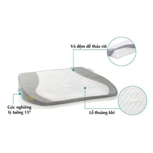 Vỏ gối có thể tháo rời - dễ dàng vệ sinh thường xuyên