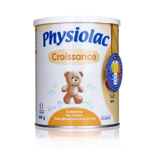 Sữa Physiolac số 3 cho bé từ 1 đến 3 tuổi