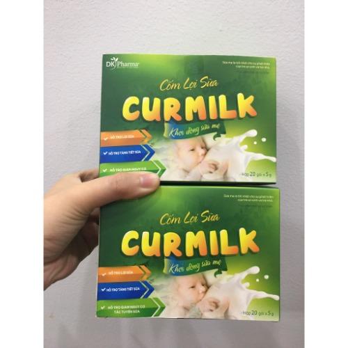 Uống cốm Curmilk mang lại hiệu quả kích sữa