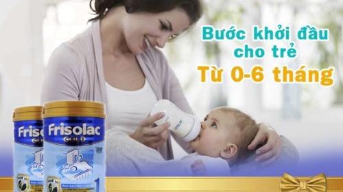 Friso Gold - giúp hoàn thiện hệ tiêu hóa non nớt của bé