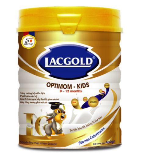 Sữa Lacgold còn có thêm hàm lượng sữa non có trong sữa mẹ