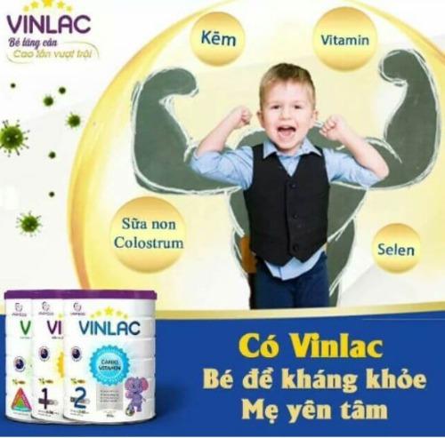 Công dụng của sữa Vinlac
