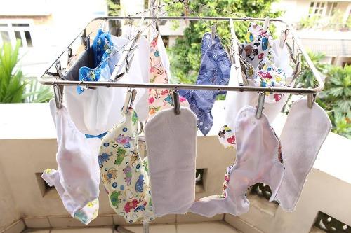 Tã vải có thể giặt và sử dụng cho lần sau