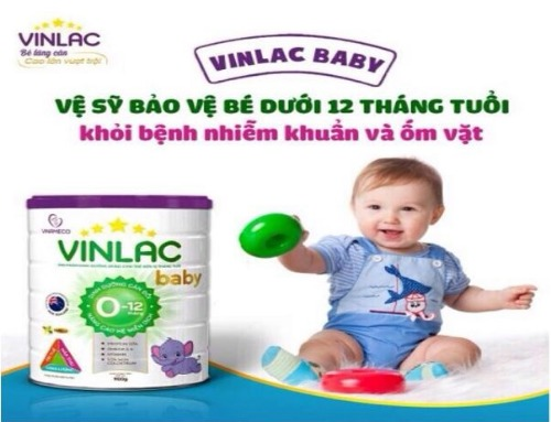 Sữa Vinlac - hỗ trợ tăng cân, miễn dịch