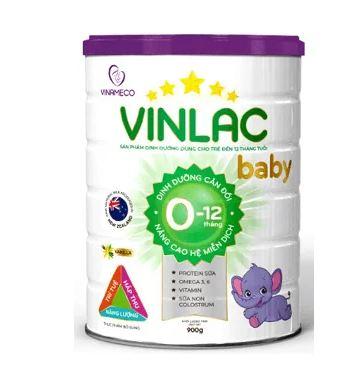 Sữa Vinlac cho bé tư 0-12 tháng