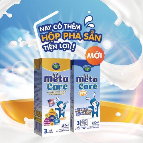 Sữa Meta Care pha sẵn tiện lợi cho bé trên 1 tuổi