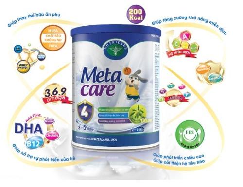 Sữa Meta Care số 4- dành cho bé từ 3 đến 6 tuổi