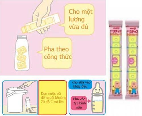 Hướng dẫn mẹ pha sữa non đúng cách