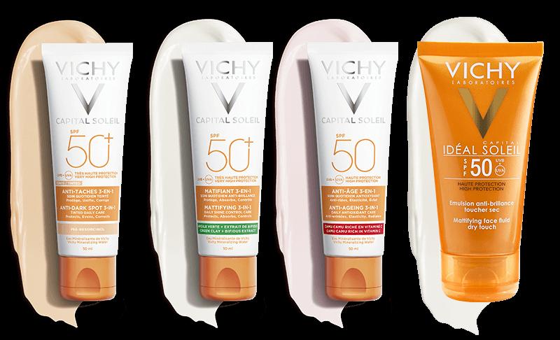 Vichy - đa dạng sản phẩm để chị em lựa chọn phù hợp với làn da của mình