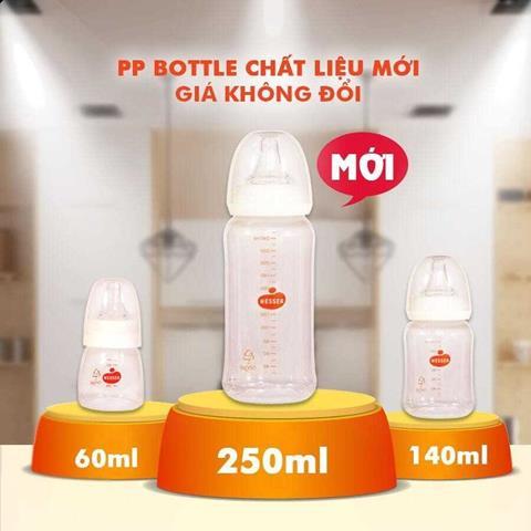 Bình sữa cao cấp Wesser - sự lựa chọn tốt nhất dành cho con