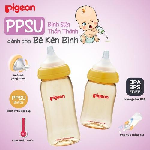 PIGEON - bình sữa cao cấp số 1 Nhật Bản