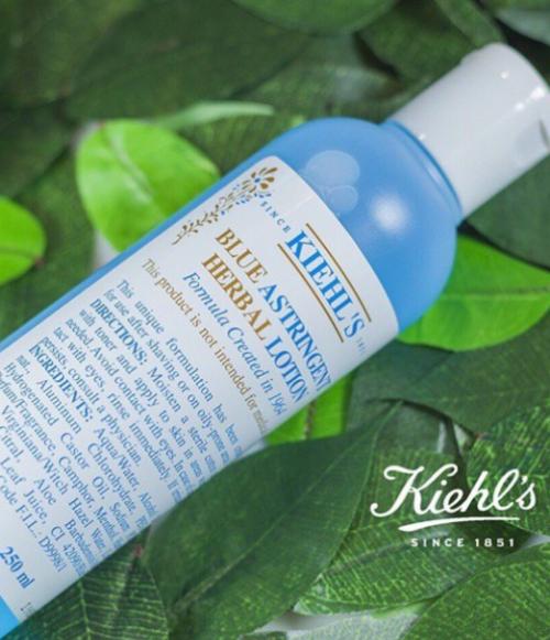 Toner Kiehl's dòng Blue - chuyên gia làm sạch sâu lỗ chân lông