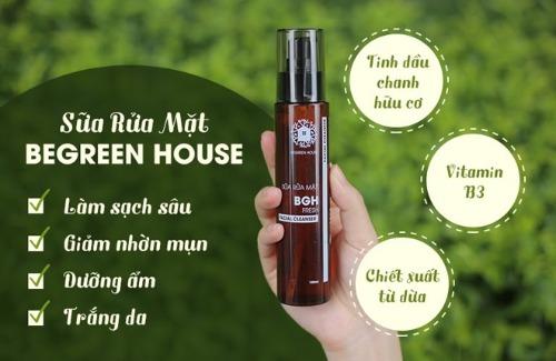 Begreen House - bí quyết giúp phái mạnh có làn da sạch sâu, khỏe đẹp