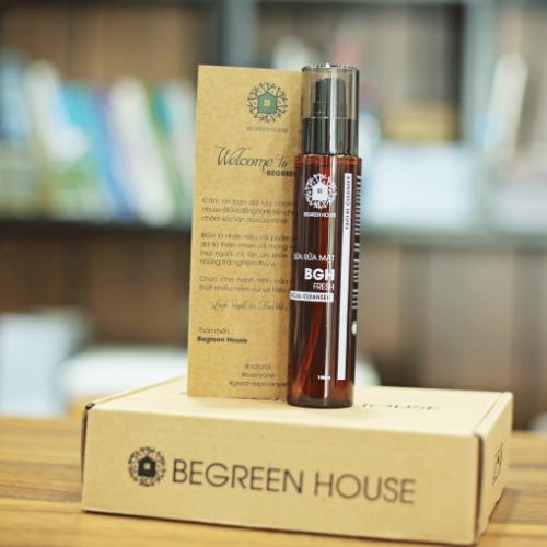 Begreen House - thương hiệu mỹ phẩm thiên nhiên chất lượng hàng đầu của Việt Nam