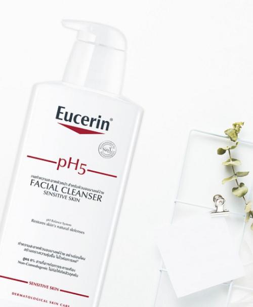 Sữa rửa mặt Eucerin PH5 được chị em ưa chuộng hiện nay