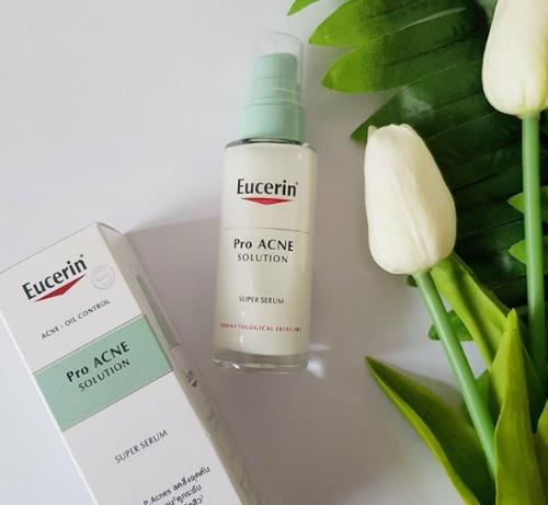 Eucerin Pro Acne Solution Super được nhiều bác sĩ da liễu khuyên dùng
