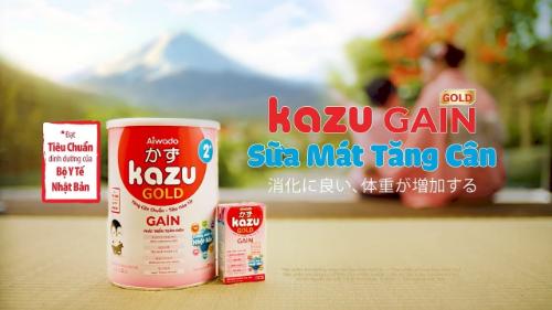 Kazu - thương hiệu sữa cao cấp chuẩn Nhật Bản