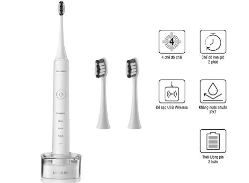 Bàn chải đánh răng điện tiện lợi hơn so với bàn chải thường
