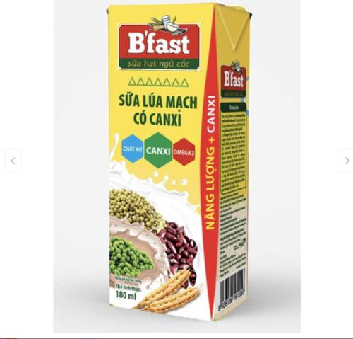 Sữa B'fast sản phẩm đến từ thương hiệu VINACAFE GH