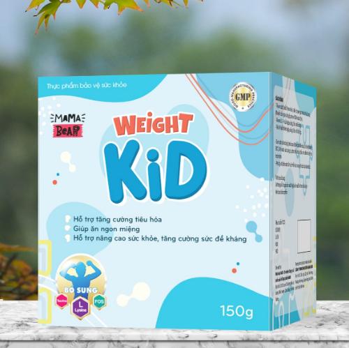 Weight Kid - giúp hệ tiêu hóa non nớt của bé hấp thu tối đa chất dinh dưỡng