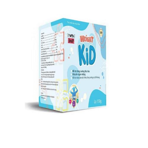 Weight Kid cải thiện hấp thu cho trẻ biếng ăn