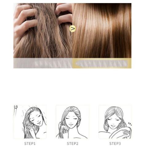 Ủ tóc với Pinky Pinky giúp tóc mềm mại, quyến rũ