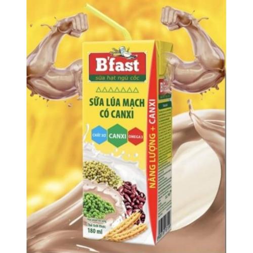 B'fast giúp bổ sung lượng canxi cần thiết cho cơ thể