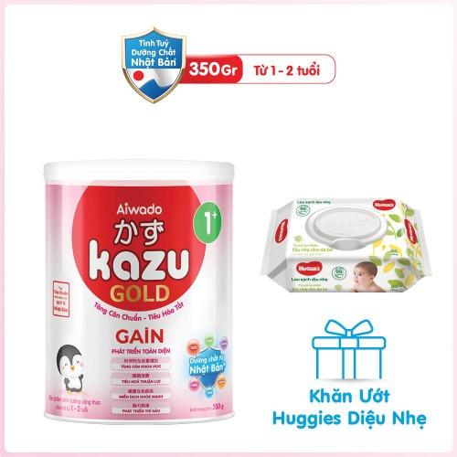 Kazu Gold - Dòng sữa ngoại được Mom ưu tiên lựa chọn cho bé yêu