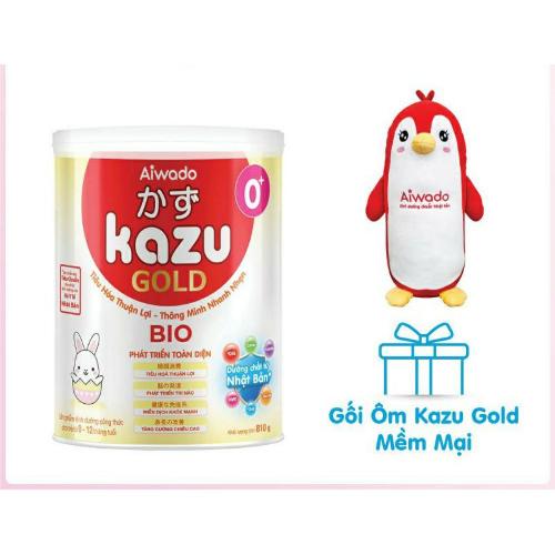 Sữa Kazu Gold hỗ trợ tăng cân cho bé, chống ốm vặt