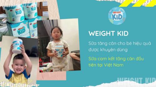 Weight Kid chính hãng được bán phổ biến trên sàn thương mại điện tử