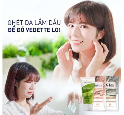 Hỗ trợ loại bỏ bã nhờn - Cấp ẩm cho da