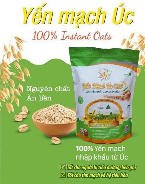 Sản phẩm có thành phần giá trị dinh dưỡng cao, gồm nhiều vitamin và khoáng chất