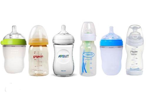 Bình sữa được làm từ nhiều chất liệu khác nhau để Mom lựa chọn an toàn cho bé