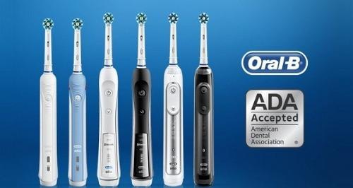 Bàn chải điện Oral B dùng được cho người lớn và trẻ em