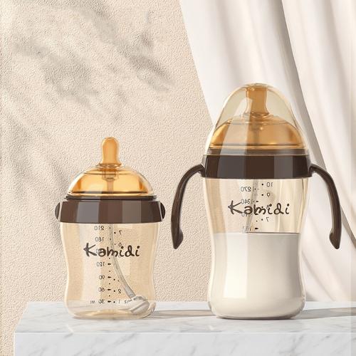 Bình nhựa cứng Kamidi cao cấp thiết kế mô phỏng đầu ti mẹ