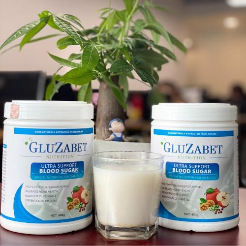 Sữa non tiểu đường Gluzabet giúp kiểm soát đường huyết